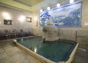 One of the public baths in dogo onsen